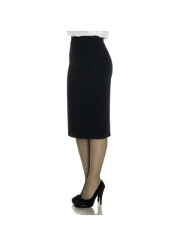 long black color skirt for receptionist
